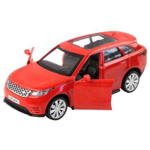 Легковой автомобиль Автопанорама Land Rover Range Rover Velar (JB1200176/JB1200177) красный