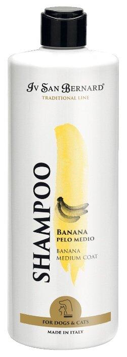 Iv San Bernard Isb Traditional Line Banana Шампунь для шерсти средней длины 500 мл
