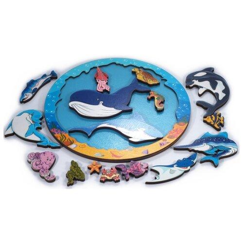Купить Зоопазл Подводный мир , Нескучные игры, Пазлы