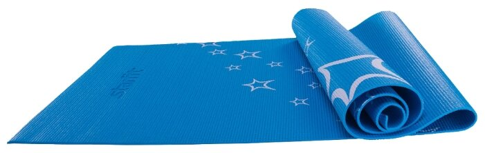 Starfit Коврик для йоги FM-102 PVC 173x61x0.5 см Синий