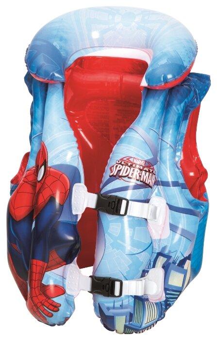 Жилет для плавания Bestway Spider-Man 98014 BW красный/голубой