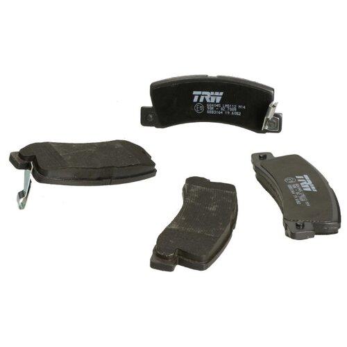 Дисковые тормозные колодки задние TRW GDB3164 для Lexus, Toyota (4 шт.)