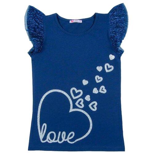 Блузка cherubino размер (128)-64, темно-синийРубашки и блузы<br>