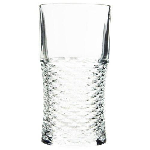 """Gift'n'Home Набор стаканов для воды """"Узор"""" 240 мл 2 шт. прозрачный"""