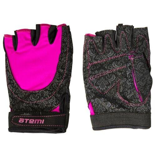 Перчатки ATEMI AFG06 черный/розовый L по цене 815