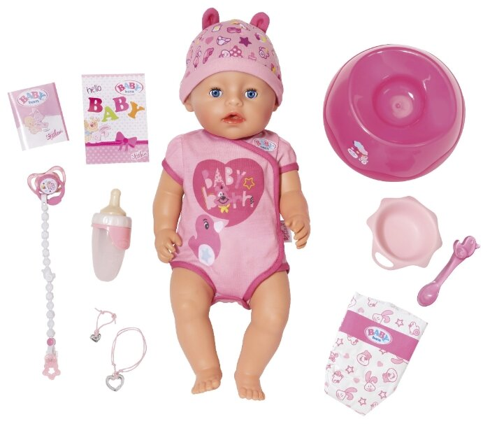 Интерактивная кукла Zapf Creation Baby Born 43 см 824-368