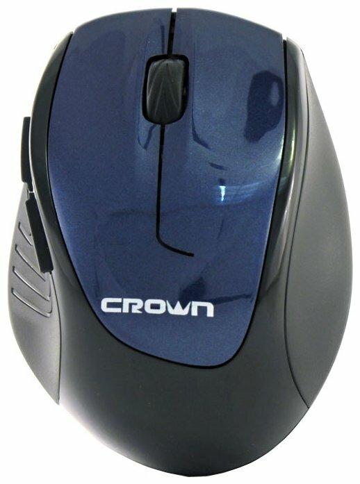 Мышь CROWN MICRO CMM-903W Blue USB