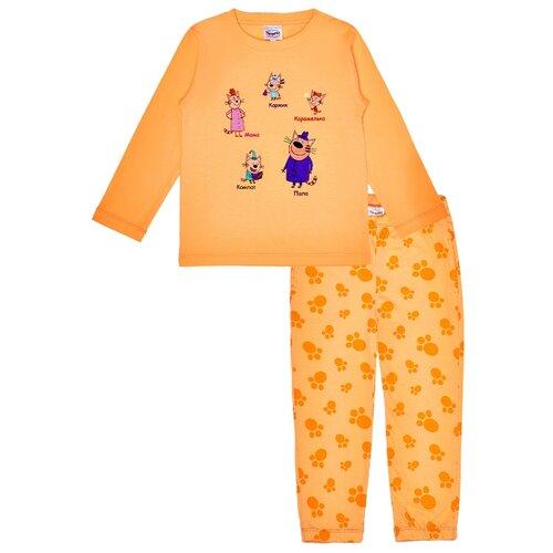 Пижама Frutto Rosso размер 92, оранжевый