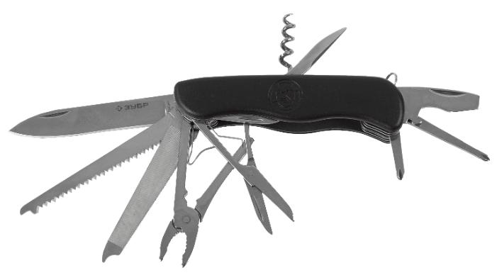 Нож многофункциональный ЗУБР Эксперт (47792) (12 функций) — купить по выгодной цене на Яндекс.Маркете