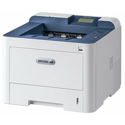 Фото - Принтер Xerox Phaser 3330, белый/синий принтер xerox phaser 3020bi белый