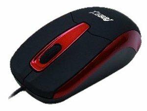Мышь Aneex E-M586 Black-Red USB