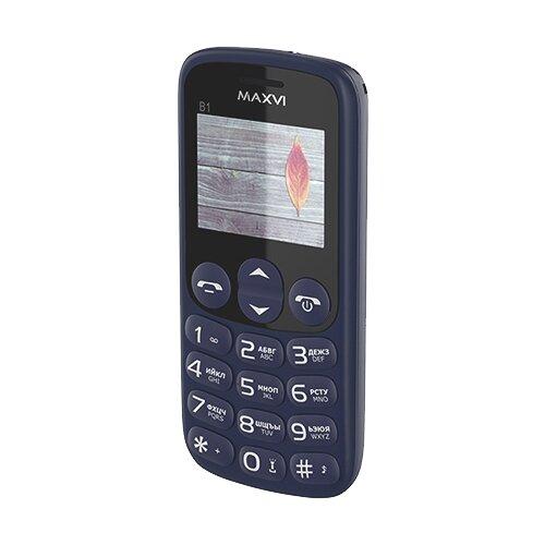Телефон MAXVI B1 синий