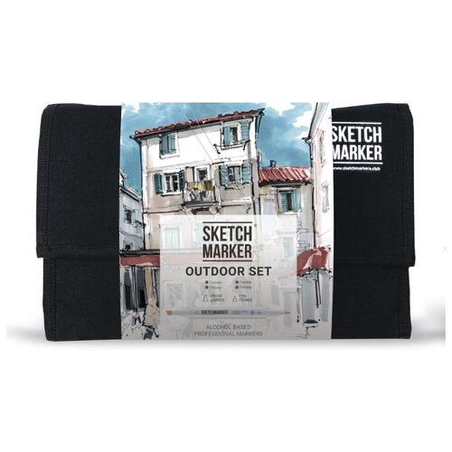 Купить SketchMarker Набор маркеров Outdoor Set, 24 шт., Фломастеры и маркеры