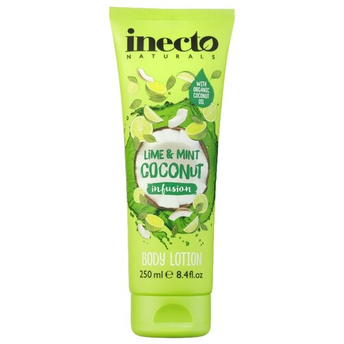Лосьон для тела Inecto Infusions Lime and Mint Coconut, 250 млКремы и лосьоны<br>