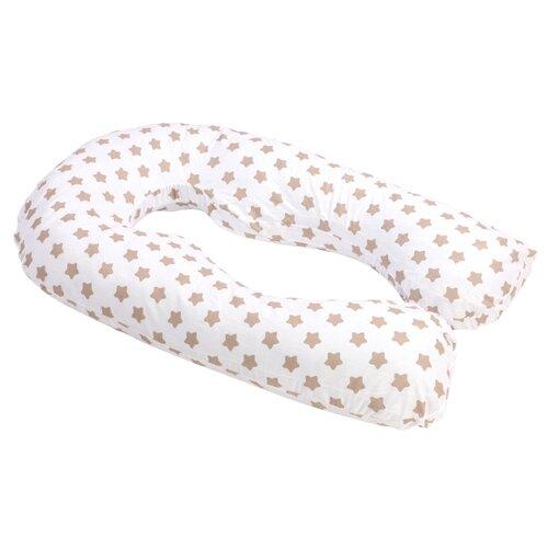 Купить Подушка Sonvol для беременных и кормления анатомическая U 340 Premium коричневые звезды, Подушки и кресла для мам