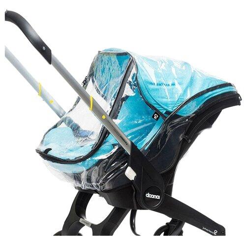 Купить SimpleParenting Дождевик Donna прозрачный, Аксессуары для колясок и автокресел