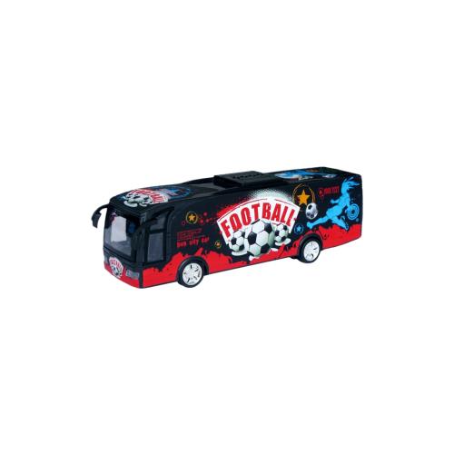 Автобус Zhorya ZYB-B0718 красный/черный