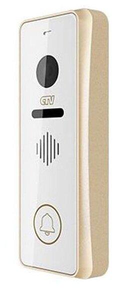 Вызывная (звонковая) панель на дверь CTV D3001 шампань