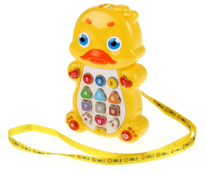 Развивающая игрушка Умка Утенок Музыкальный телефон