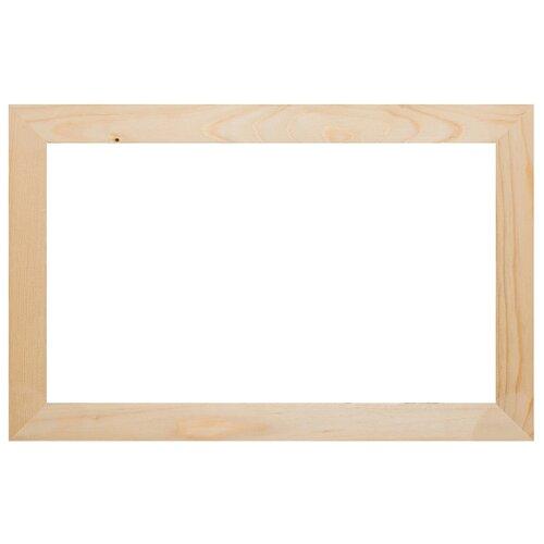 Купить Рама деревянная неокрашенная 3см 40, 4x90, 4 см. плоский профиль, сечение 30х15 мм., Всеподрамники, Рамки