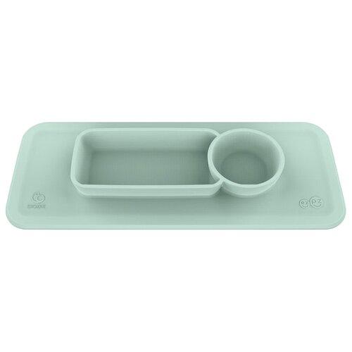 Купить Stokke тарелка-подносик ezpz для стульчика Clikk мятно-зеленый, Посуда