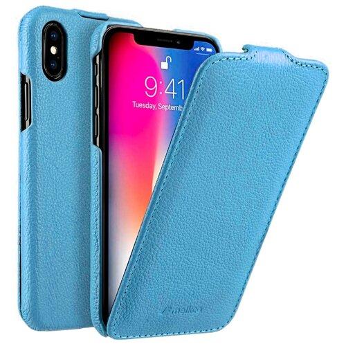 Купить Чехол Melkco Jacka Type для Apple iPhone X/Xs голубой
