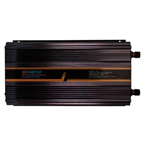 Инвертор Энергия AutoLine Plus 1200 черный