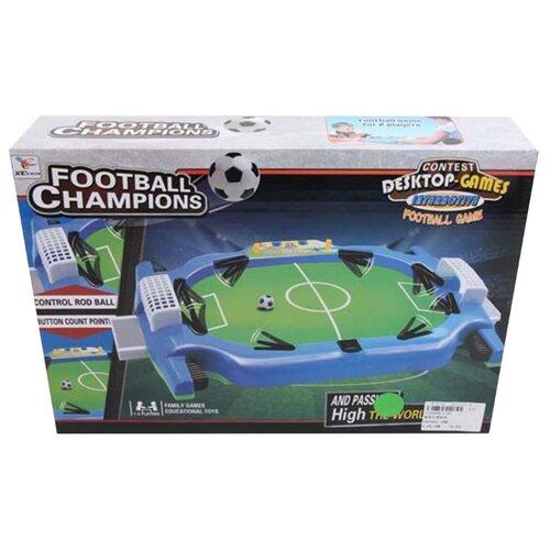 Купить Настольный футбол Наша Игрушка игровое поле, лоток 2 шт, ворота 2 шт, мяч, коробка (2192), Наша игрушка, Настольный футбол, хоккей, бильярд