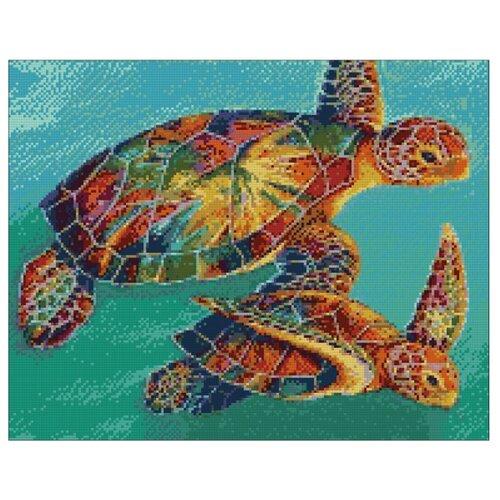 Фото - Гранни Набор алмазной вышивки Морские черепахи (Ag 4665) 48х38 см гранни набор алмазной вышивки славянские сказки ag 135 48х38 см