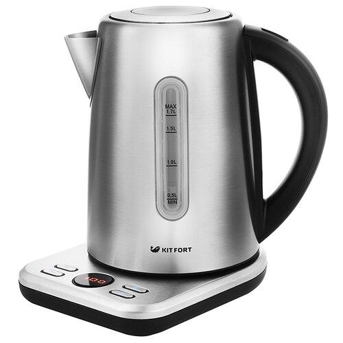 Чайник Kitfort KT-661, silver