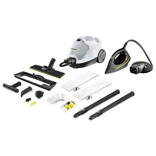 Пароочиститель KARCHER SC 4 EasyFix Premium Iron 1.512-489.0, белый/черный