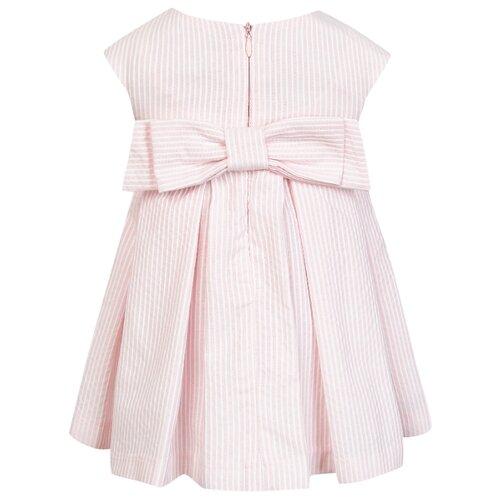 Платье Lapin House размер 80, розовый/цветочный принт