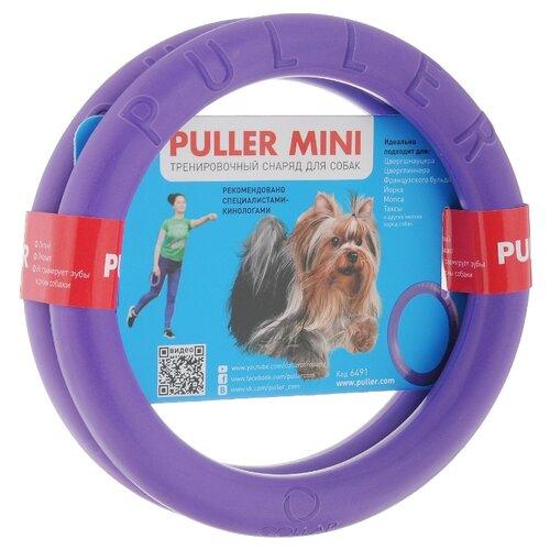 Фото - Набор игрушек для собак Puller Тренировочный снаряд Мини 2 шт (6491) фиолетовый полесье набор игрушек для песочницы 468 цвет в ассортименте