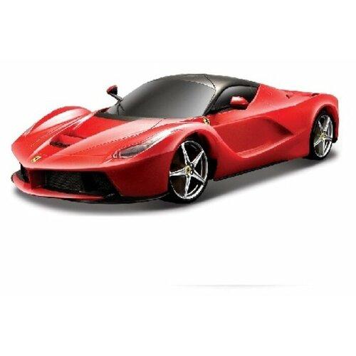 Купить Легковой автомобиль Bburago Ferrari LaFerrari (18-26001) 1:24 красный, Машинки и техника