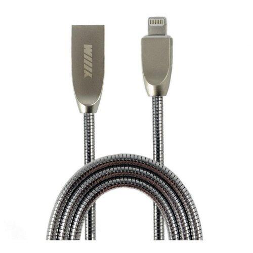 Кабель WIIIX USB - Lightning (CB850-U8-Z-10) 1 м серебристый