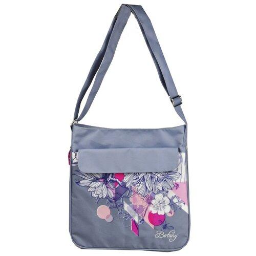 Купить Школьная сумка ErichKrause Botany (39377) серый/розовый, Школьные сумки