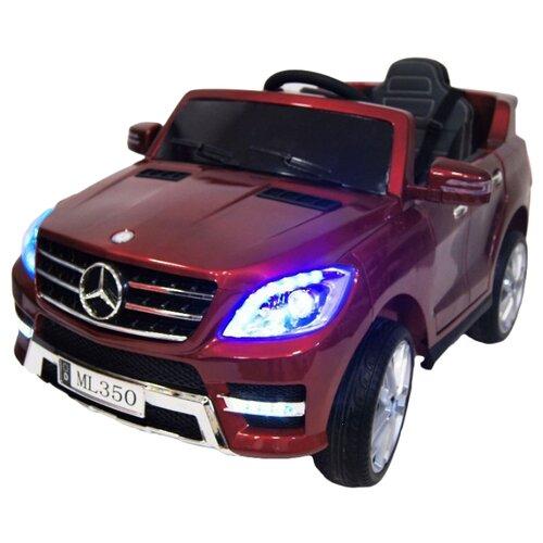 Купить RiverToys Автомобиль Mercedes-Benz ML350, вишневый глянец, Электромобили