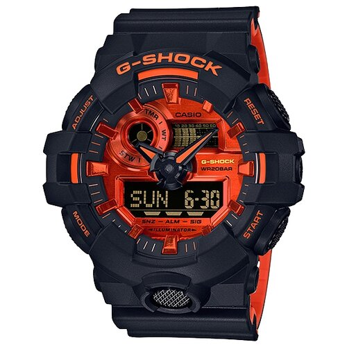 Наручные часы CASIO GA-700BR-1A casio ga 110hr 1a