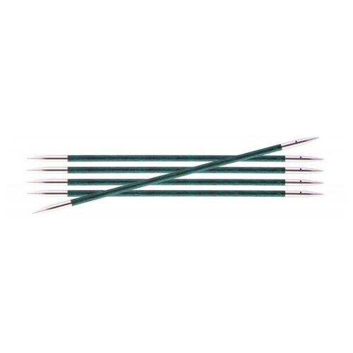 Купить Спицы Knit Pro Royale 29035, диаметр 3.5 мм, длина 20 см, аквамариновый