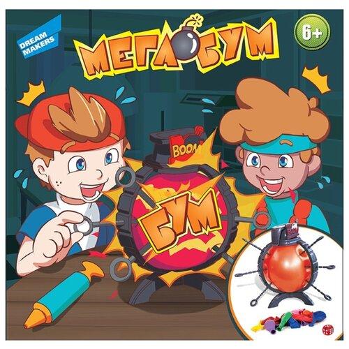 Купить Настольная игра Dream Makers Мега Бум (B3110), Настольные игры