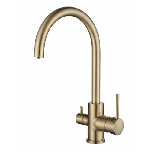 Смеситель для кухни под фильтр KAISER Merkur 26744-3 Bronze