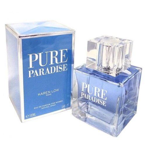 Парфюмерная вода Karen Low Pure Paradise, 100 мл geparlys парфюмерная вода pure eau fraiche women линии karen low 100 мл