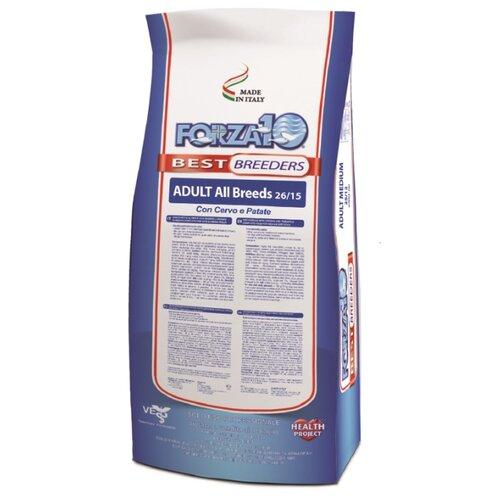 Сухой корм для собак Forza10 Best Breeders 26/15 для здоровья кожи и шерсти, оленина с картофелем 20 кг сухой корм для собак forza10 best breeders 26 15 для здоровья кожи и шерсти оленина с картофелем 20 кг