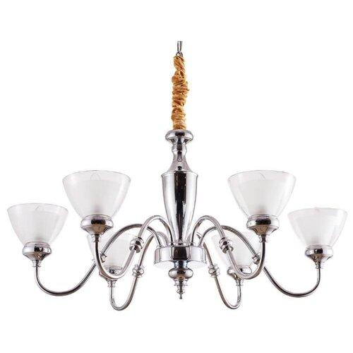 Люстра Arte Lamp A5184LM-6CC, E14, 240 Вт люстра arte lamp camomilla a6049pl 6cc e27 240 вт