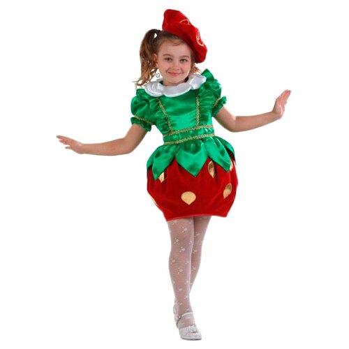 Купить Костюм Батик Клубничка (480), зеленый/красный, размер 128, Карнавальные костюмы