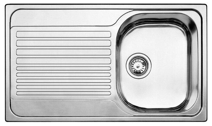 Врезная кухонная мойка Blanco Tipo 45S 86х50см нержавеющая сталь — цены на Яндекс.Маркете