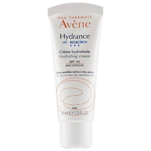 AVENE Hydrance Rich Hydrating Cream SPF 30 Увлажняющий крем для сухой кожи, 40 мл avene увлажняющий насыщенный крем 40 мл avene hydrance