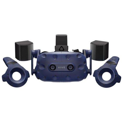 Фото - Шлем виртуальной реальности HTC Vive Pro, синий шлем виртуальной реальности htc vive cosmos elite черный