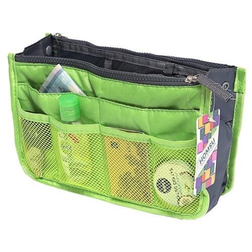 Органайзер для сумки HOMSU Chelsy, зеленый органайзер для сумки homsu цвет черный 28 x 8 x 16 см