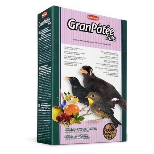 Padovan корм Granpatee Fruits для насекомоядных птиц 1000 г